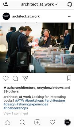 Sige ARCHITECT@WORK en Instagram!